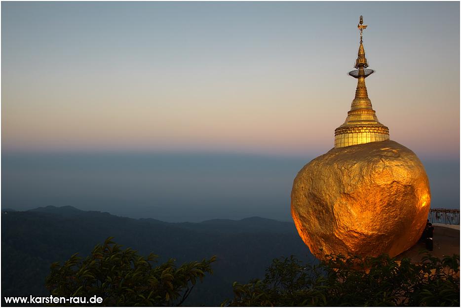 Portfolio | Countries | Myanmar | Golden Rock (Mount Kyaikhtiyo)