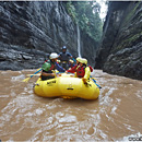 Rafting on the Upper Navoa River, Viti Levu, Fiji