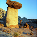 Toadstool Hoodoo, Grand Staircase Escalante National Monument, GSENM, Utah, USA